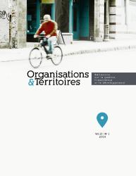 Organisations & Territoires - image de la couverture vol. 27 n. 1