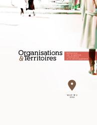 Organisations & Territoires - image de la couverture vol. 27 n. 2