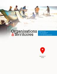 Page couverture de la revue. Représente des pêcheurs sur la plage.